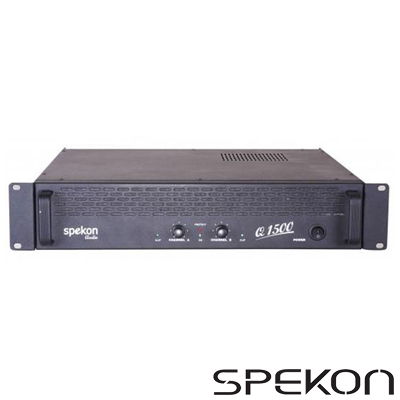 Spekon Q1500 Power Anfi 2x750 Watt
