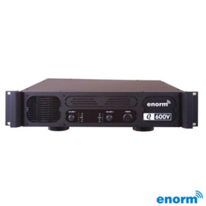 Enorm Q600V Power Anfi 2x500 Watt 100 Volt