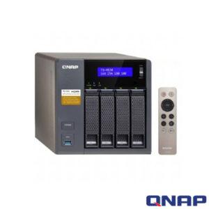 QNAP TS-453A NAS DEPOLAMA ÜNİTESİ (4GB DDR3L RAM)
