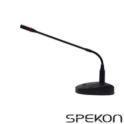 Spekon SA-50L Masa Tipi Işıklı Kürsü Mikrofon