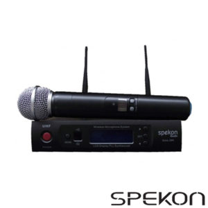 Spekon Solo-200 Telsiz EL Mikrofonu