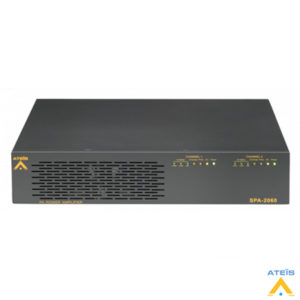 Ateis SPA2060 2x60 Watt/100 V Güç Power Amplifikatör
