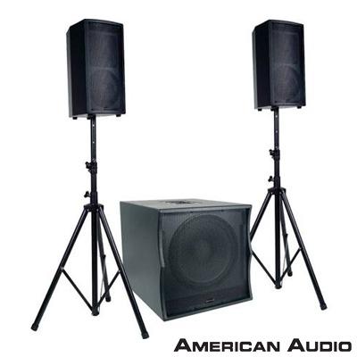 American Audio Tri Pack II 3lü Ses Sistem Paketi
