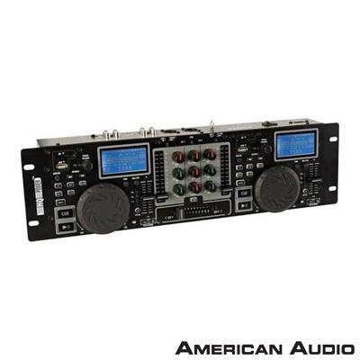 American Audio VDSMP31 2li Sd Kartlı Mp3 Çalar + Mikser