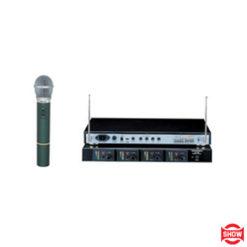 Show WM19 Kablosuz Dörtlü El Mikrofonu