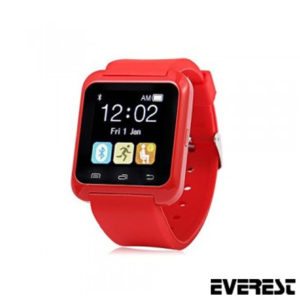 EVEREST EW-403 BLUETOOTH KIRMIZI AKILLI SAAT