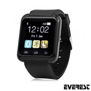 EVEREST EW-403 BLUETOOTH SİYAH AKILLI SAAT