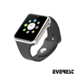EVEREST EW-505 BLUETOOTH GÜMÜŞ AKILLI SAAT
