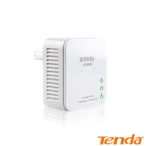 Tenda P200-Kit HomePlug 1 Port Kablolu 200 Mbps