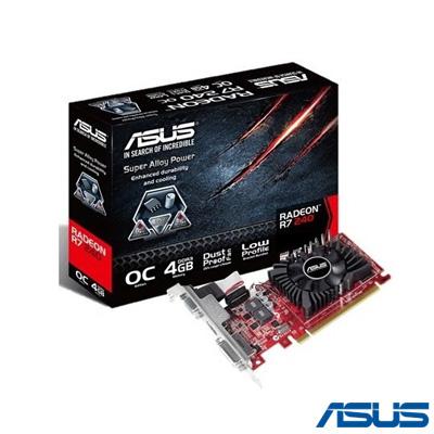 Asus R7 240 OC 4 GB 128Bit DDR3 16X HDCP, DVI+HDMI+D-Sub