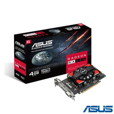 Asus RX550-4G 4GB 128bit GDDR5 16X