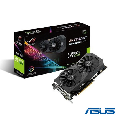 Asus Strix GTX1050-O2G GAMING 2GB 128Bit GDDR5