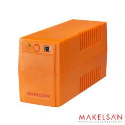 MAKELSAN LION+ 650VA USB (1x 7AH) 5-10dk