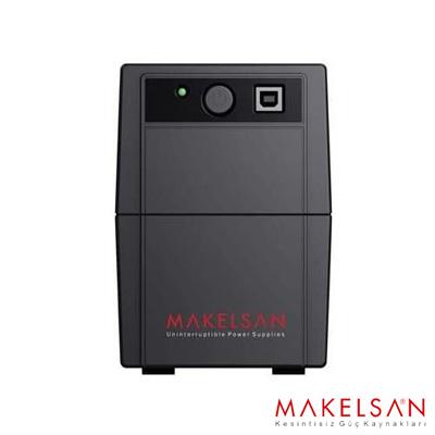 MAKELSAN LION+ 850VA USB (1x 9AH) 5-10dk USB Giriş