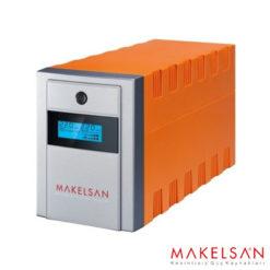 MAKELSAN LION+1000VA LCD/USB (2x 7AH) 5-10dk
