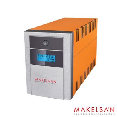 MAKELSAN LION+1500VA LCD/USB (2x 9AH) 5-10dk