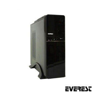 Everest 607T Peak 250W Slim Kasa Siyah