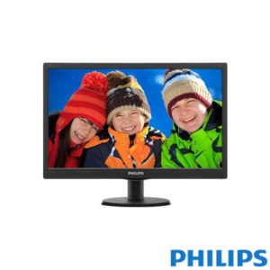 "Philips 19,5"" 203V5LSB26-62 LED Monitör 5ms Siyah"