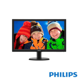 "Philips 23,6"" 243V5LAB-01 5ms Led Monitör Siyah"