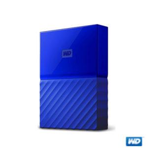 """WD 2.5"""" 1TB My Passport Mavi USB3.0 WDBYNN0010BBL"""