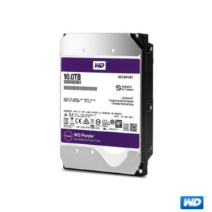 "WD PURPLE 3,5"" 10TB 256MB 5400RPM WD100PURZ"
