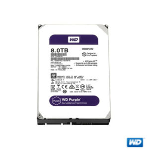 "WD PURPLE 3,5"" 8TB 128MB 5400RPM WD80PURZ"