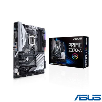 Asus PRIME Z370-A DDR4 S+V+GL 1151p8 4000Mhz