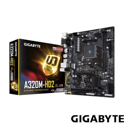 Gigabyte GA-A320M-HD2 S+V+GL DDR4 AM4 (mATX)