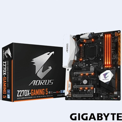 Gigabyte Z270X-GAMING 5 DDR4 S+V+GL 1151p (ATX)