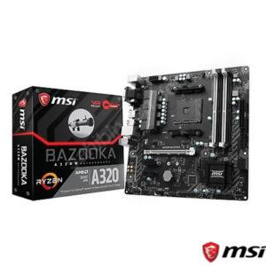 MSI A320M BAZOOKA DDR4 S+V+GL AM4 (mATX)