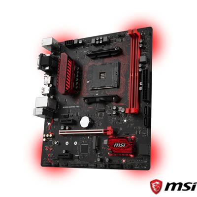 MSI B350M GAMING PRO DDR4 S+V+GL AM4 (mATX)