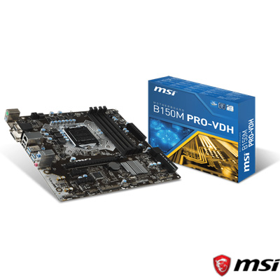 MSI B350M PRO-VDH DDR4 S+V+GL AM4 (mATX)