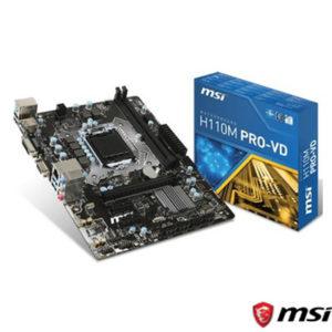 MSI H110M PRO-D DDR4 2133MHz S+V+GL 1151 (mATX)