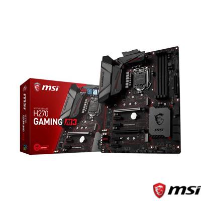 MSI H270 GAMING M3 DDR4 S+V+GL 1151 (ATX)
