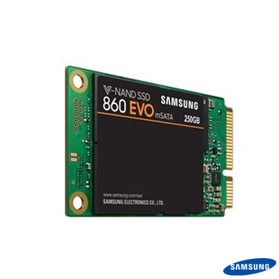 Samsung 860 EVO 250GB mSata Disk MZ-M6E250BW