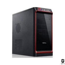 Vento TA-KB2 400W Mid Tower Kasa Siyah-Kırmızı