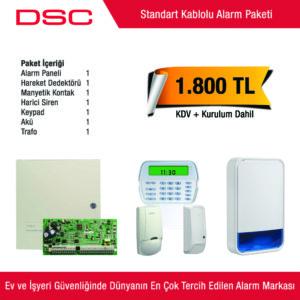 Dsc Kablolu Alarm Sistemi - Kurulum Dahil